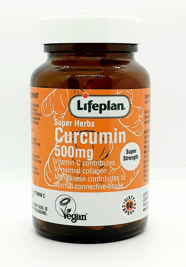 Lifeplan Curcumin 500mg with Vitamin C and Manganese