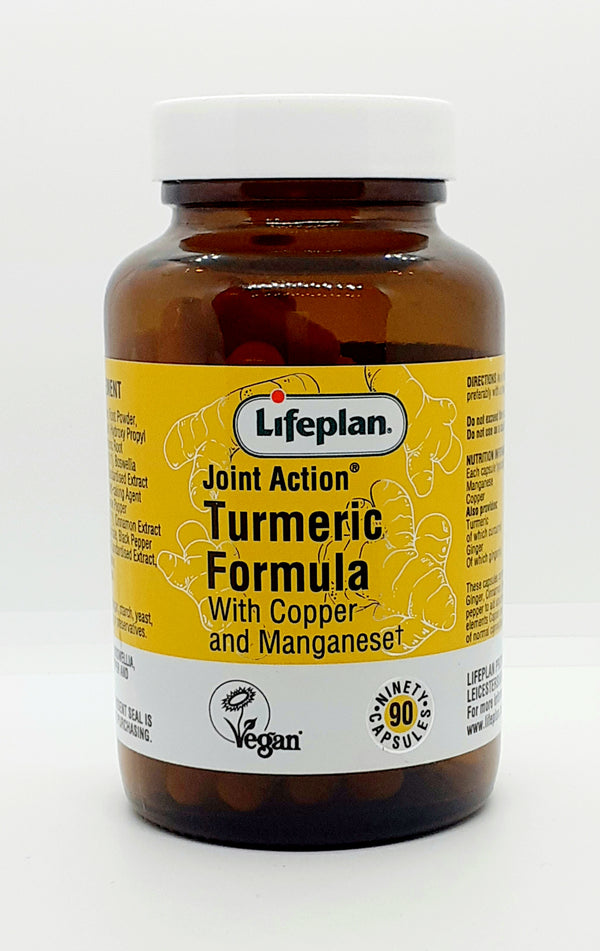 Lifeplan Joint Action Turmeric Formula with Copper and Manganese