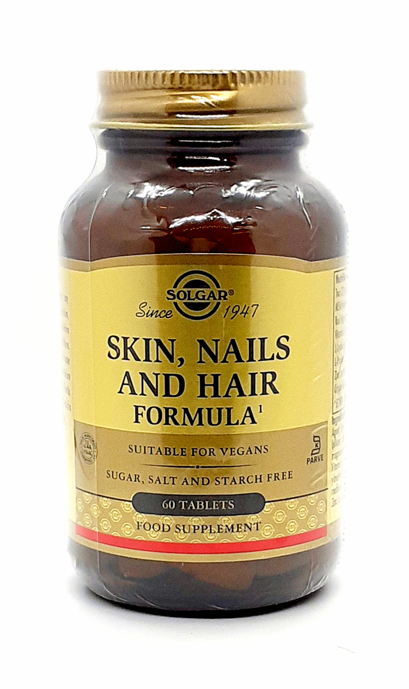 Solgar skin,nails and hair formula 60 tablets