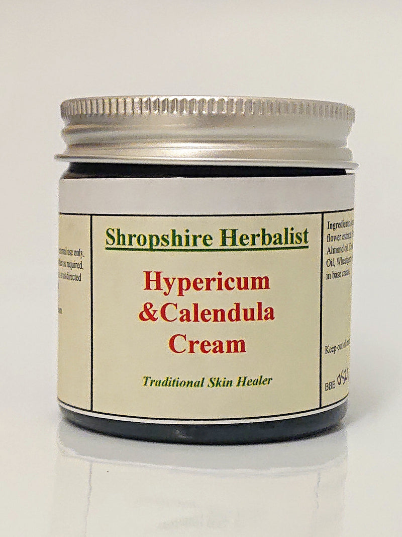 Hypericum and Calendula Cream