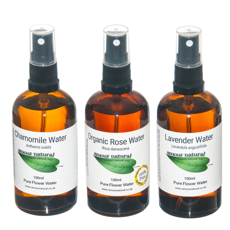 Rose Flower Water, organic 100ml