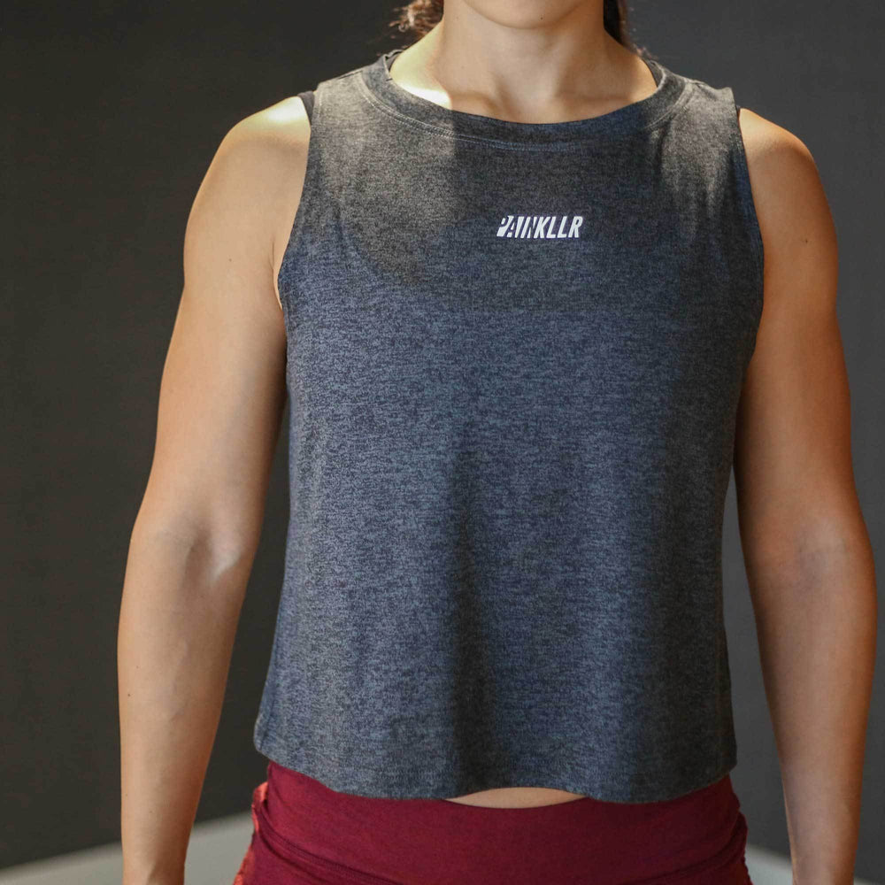 Pace Muscle Tank - Charcoal