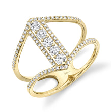 Load image into Gallery viewer, Diamond Lady's Ring