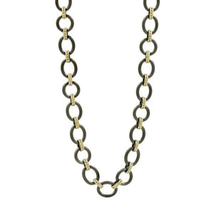 THE PERFECT CHUNKY MIXED METAL LINK NECKLACE