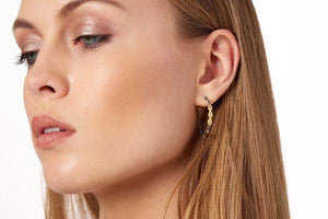 THE PERFECT OVAL MARQUISE HOOP EARRINGS