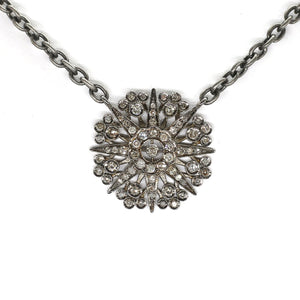 Diamond Compass Rose Necklace