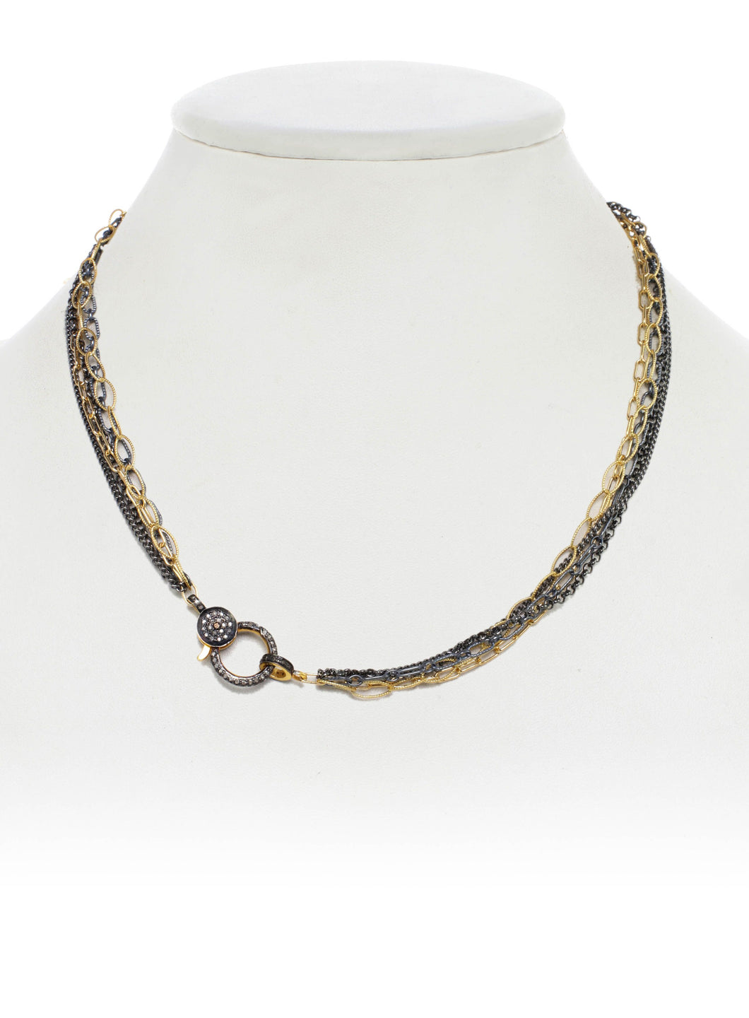Gold & Silver Chain Necklace