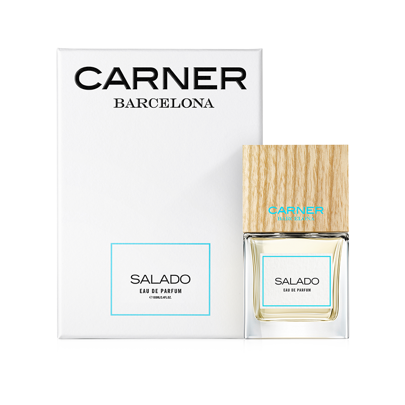 Salado is the scent of sunbathed skin speckled with dried salt crystals left behind from a summer ocean dip in waters the color of blue tourmaline. It's crisp and refreshing like a soft Mediterranean breeze that skims across the deck of a sailboat docked at sea.  TOP NOTES  Pink peppercorn, Paraguayan petitgrain, Italian bergamot  MID NOTES  Moroccan orange blossom, Cucumber  BASE NOTES  Salty accord, Wood floated accord, Musk