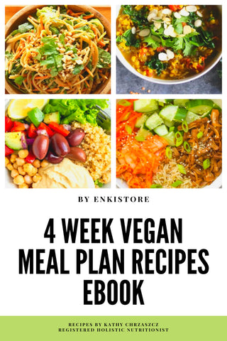 4 Week Vegan Meal Plan eBook