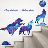 Wolf Moon Wall Stickers