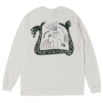 STORY IN STORY LONG SLEEVE TEE -White