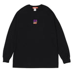 STORY IN STORY LONG SLEEVE TEE -Black