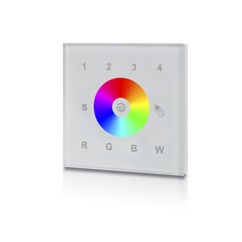RGB/ W-REMOTE RGBW WALL WHITE 8202 - Lumention