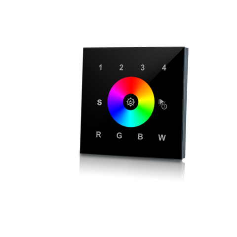 RGB/ W-REMOTE RGBW WALL BLACK - Lumention