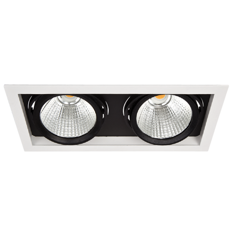 LED inbouw spot R08002 2x28W - Lumention
