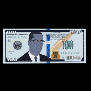 New Currency - Malcolm X Money