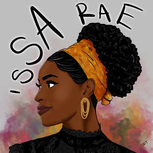 Issa Rae Illustration