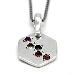 Tourmaline Galaxy Necklace