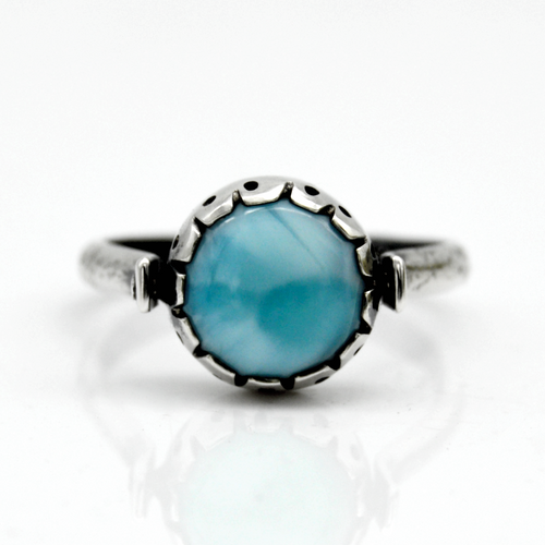 Diamond Larimar Infinity Treasure