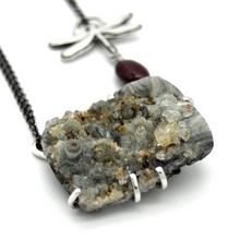 Dragonfly Druzy Necklace