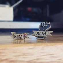 BLM Solidarity Lapel Pin - PRESALE