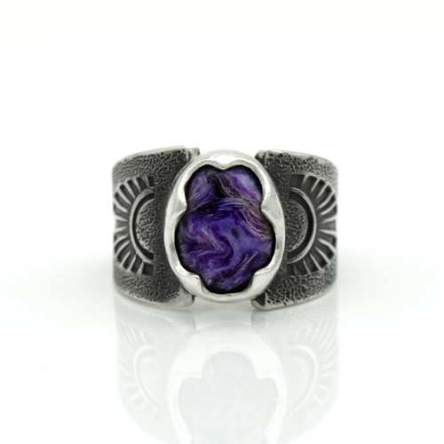 Size 6.25 Charoite Ring