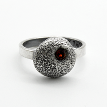 Size 6 Red Garnet Ring