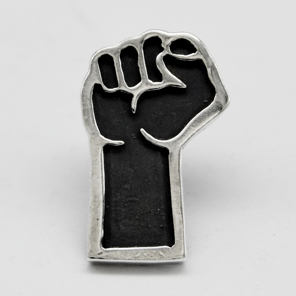 Solidarity Fist Lapel Pin - PRESALE
