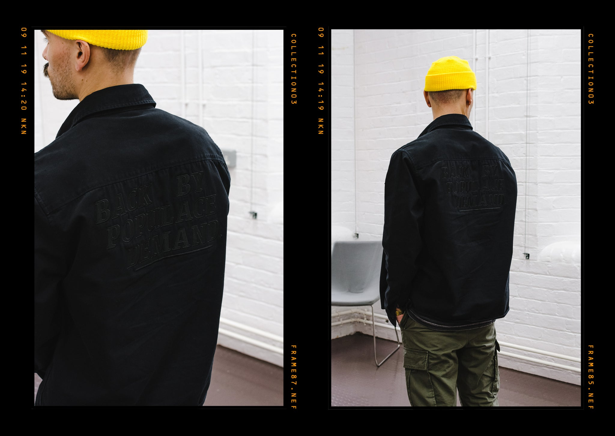 Critically Acclaimed: Cut & Sew Collection 03 Lookbook Page 9