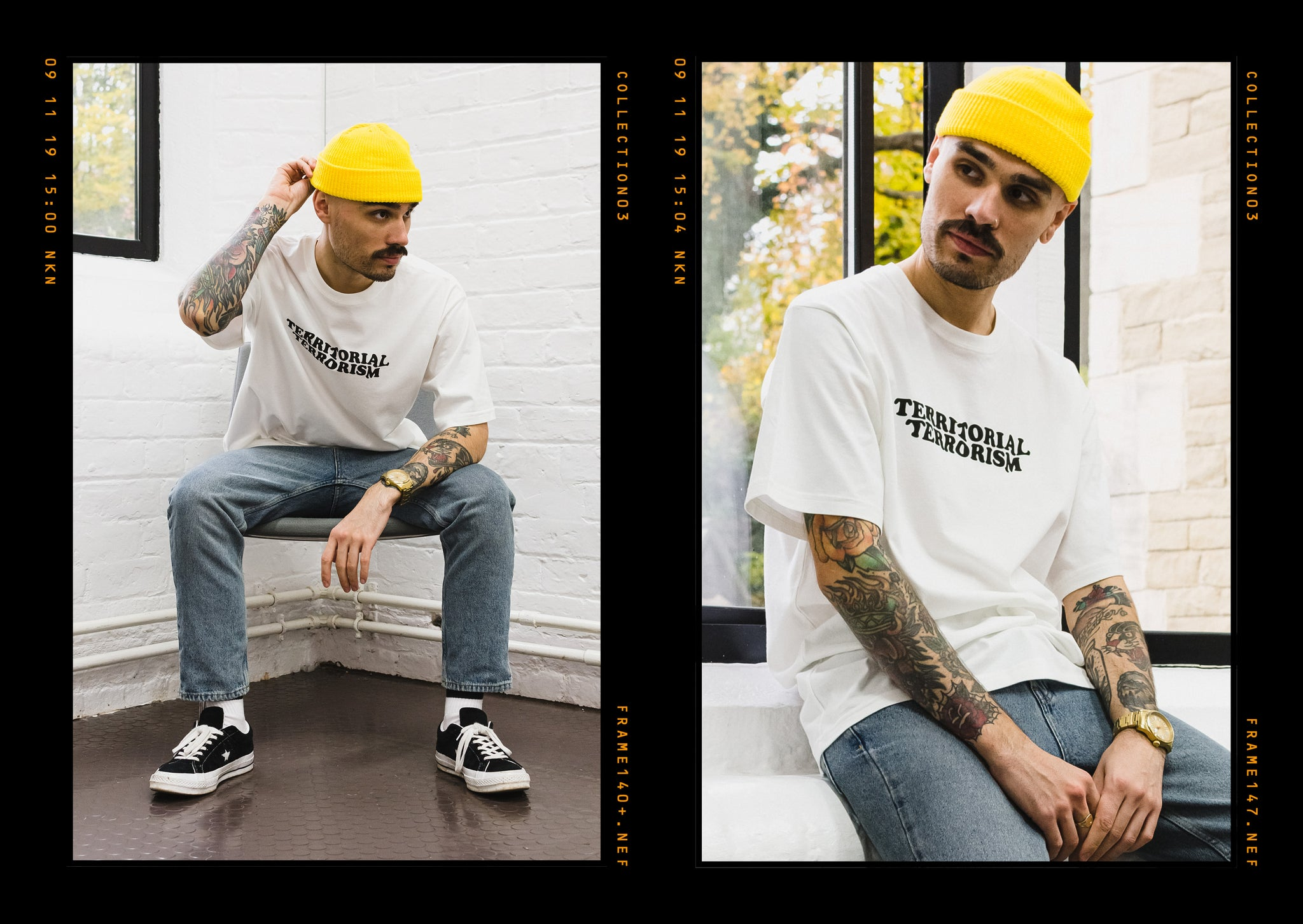 Critically Acclaimed: Cut & Sew Collection 03 Lookbook Page 18