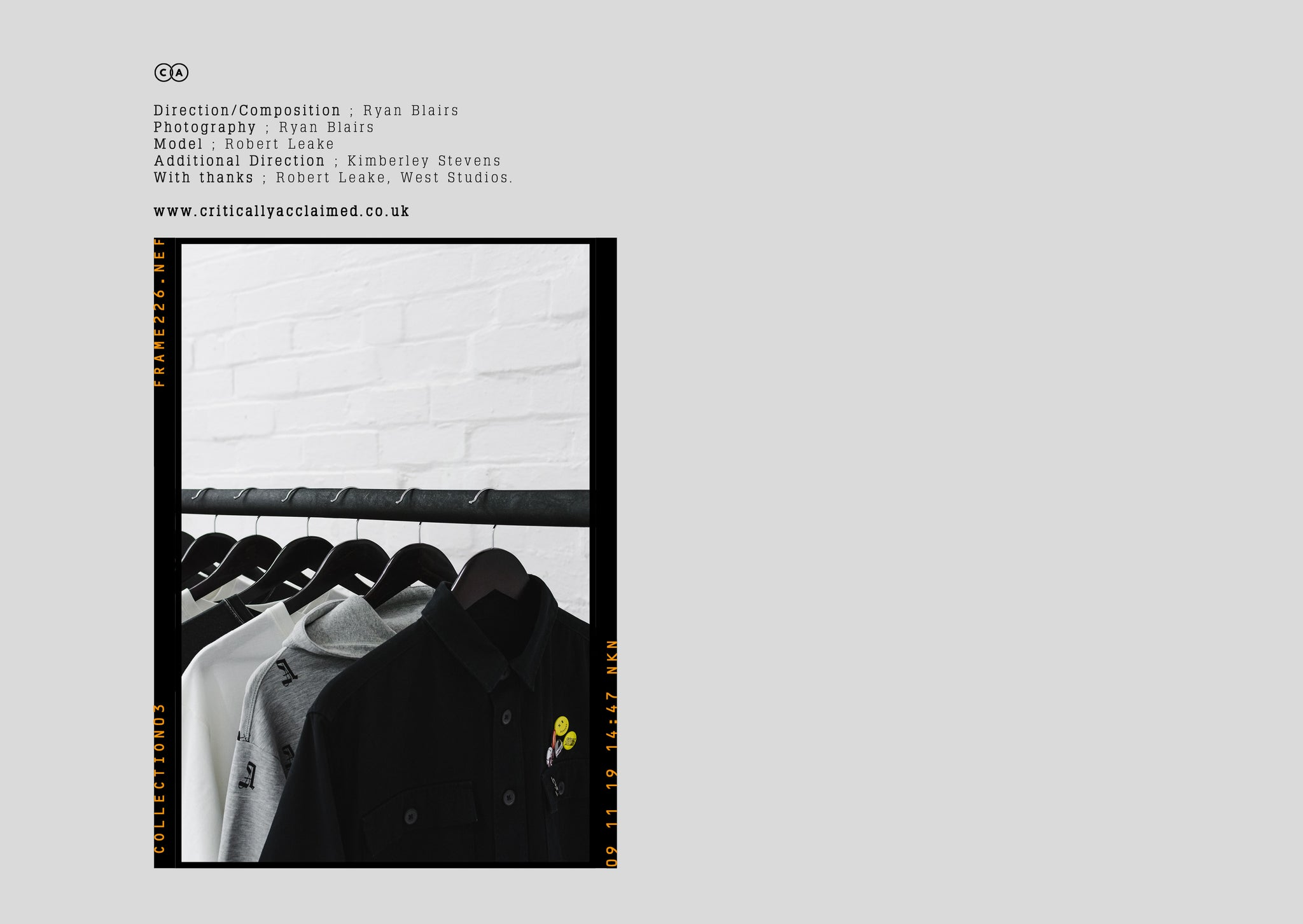 Critically Acclaimed: Cut & Sew Collection 03 Lookbook Page 24