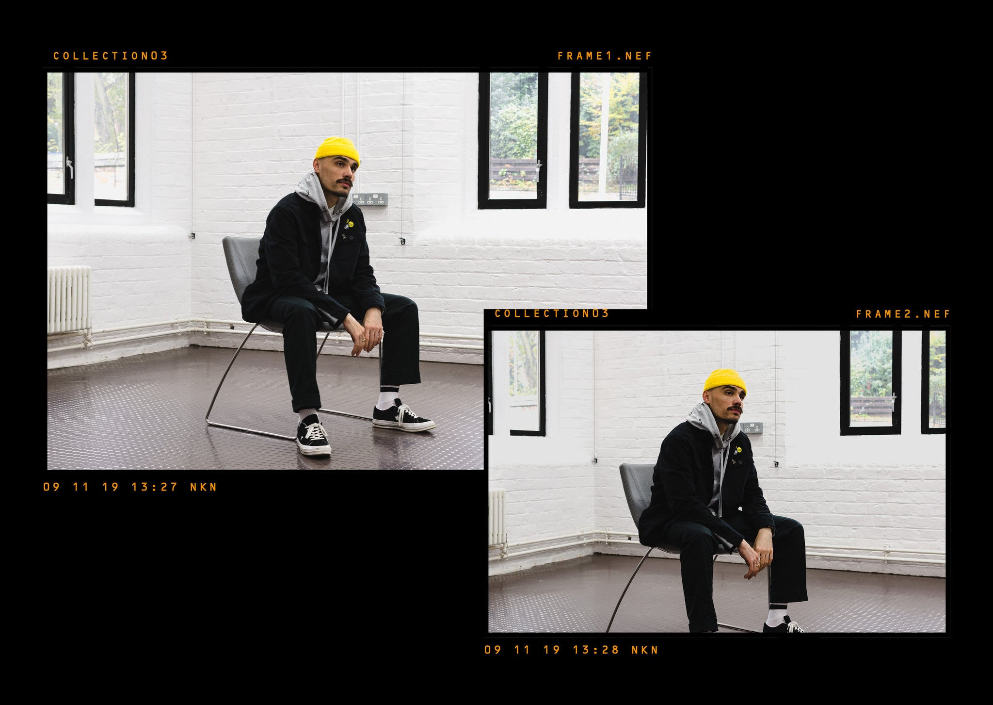 Critically Acclaimed: Cut & Sew Collection 03 Lookbook Page 2