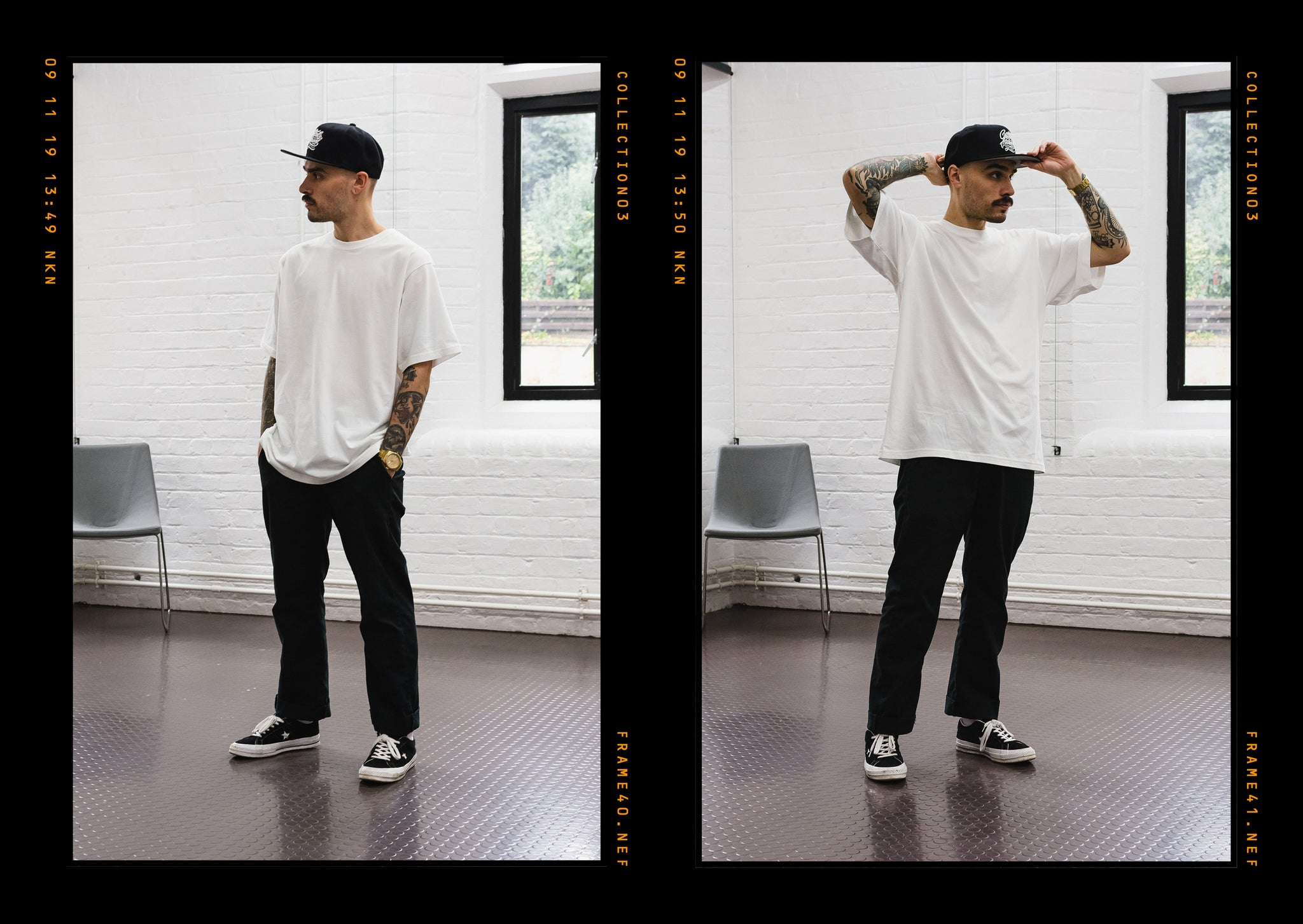 Critically Acclaimed: Cut & Sew Collection 03 Lookbook Page 6