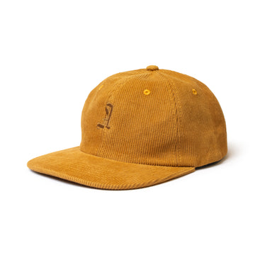 A Insignia Unstructured Corduroy Hat Rust