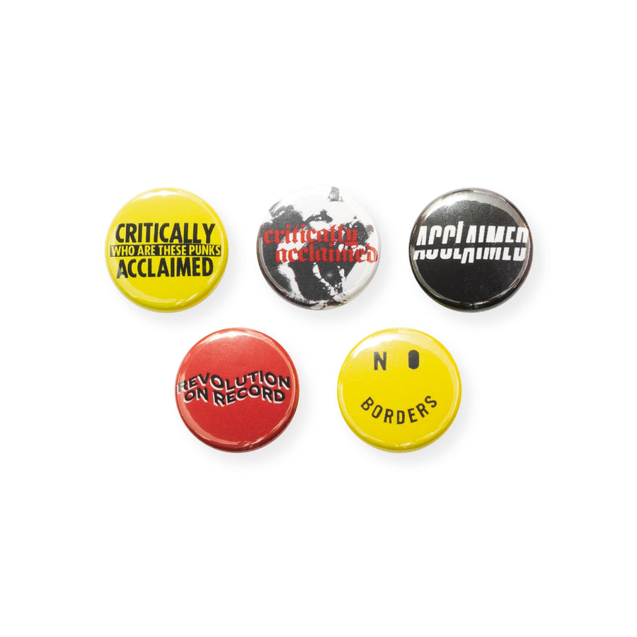 Revolution 25mm Badge Pack