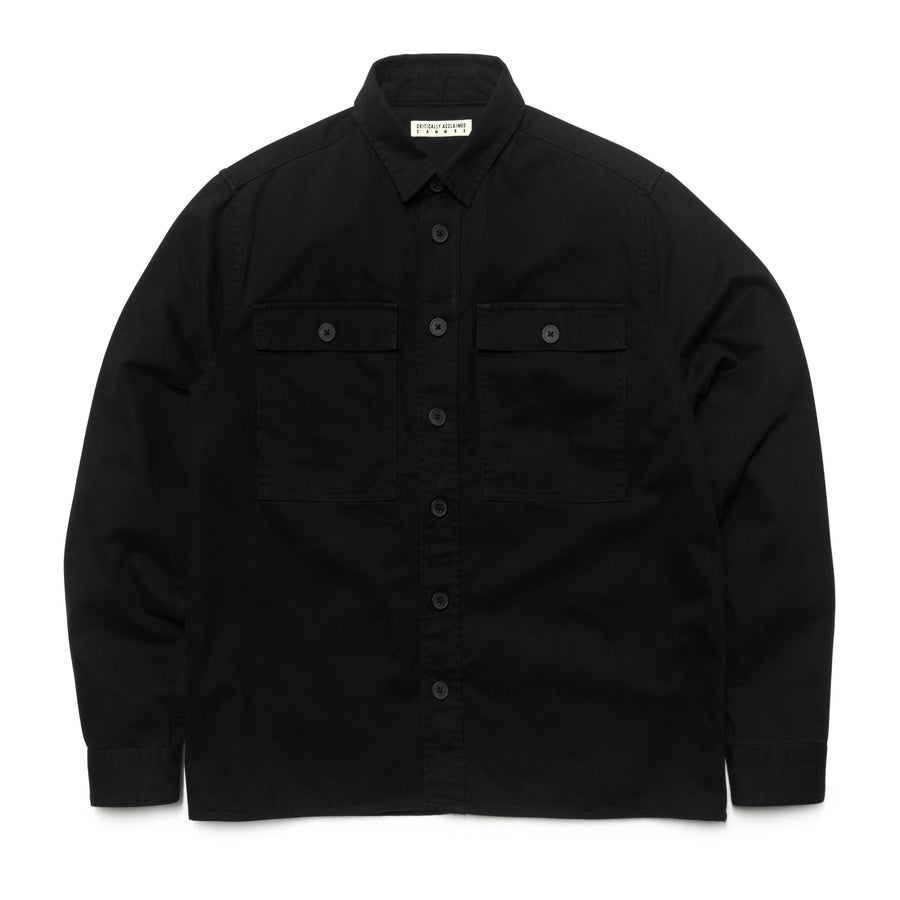 Populace Embroidered Work Overshirt