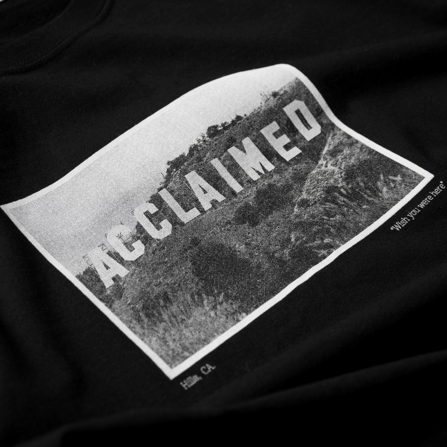 Acclaimed Hills Black T-Shirt
