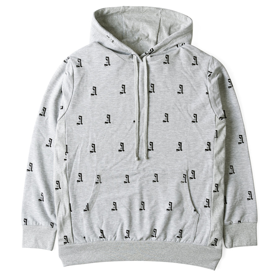Critically Acclaimed Screen Print A Hoodie French Terry