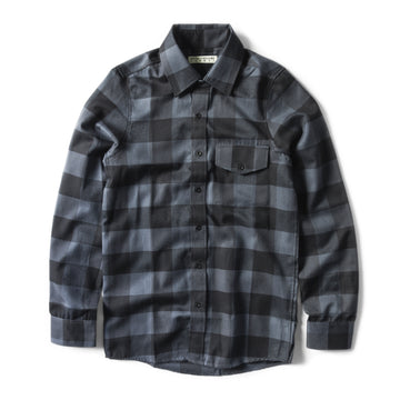 Burnout Ash Button Up Shirt