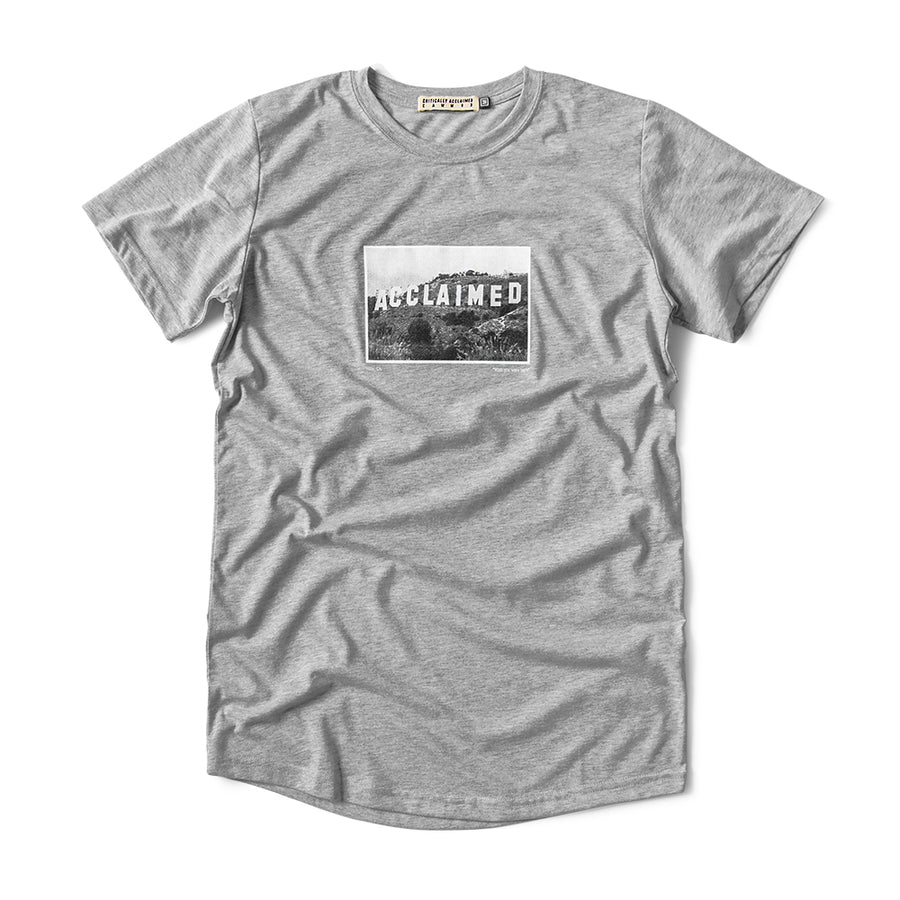 Acclaimed Hills Grey T-Shirt