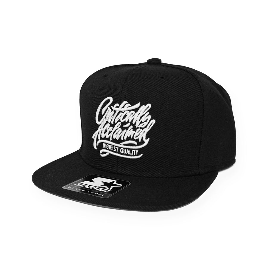 Critically Acclaimed x Starter Snapback - Black