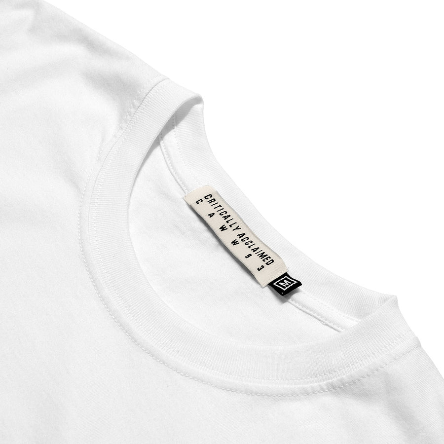 Basic White Longsleeve T-Shirt