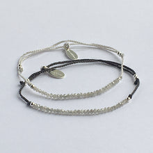 Charger l'image dans la galerie, Collection Lily I Bracelet Lily diamants gris