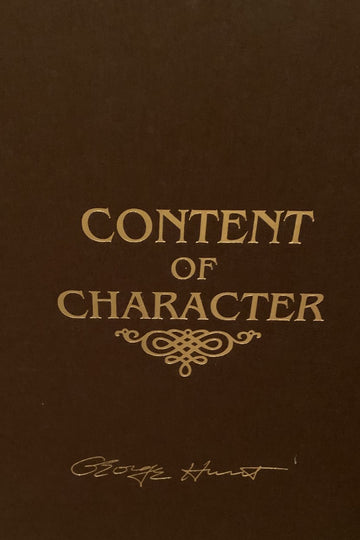 George Hunt: Content of Character