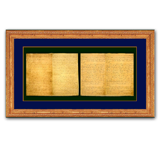 Framed Emancipation Proclamation