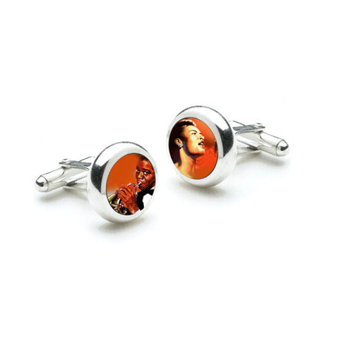 Red Hot Blues Cufflinks