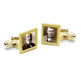 18K Solid Gold Dubois-Washington Cufflinks