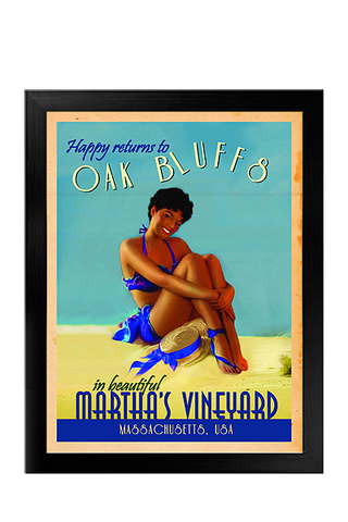 Martha's Vineyard Vintage Resort Canvas