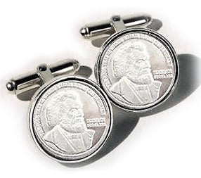 Sterling Silver Douglass Cufflinks