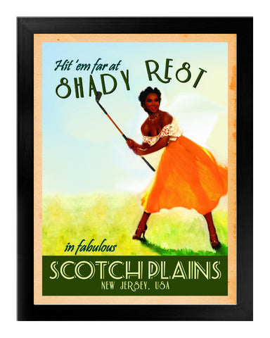 Scotch Plains Vintage Resort Canvas